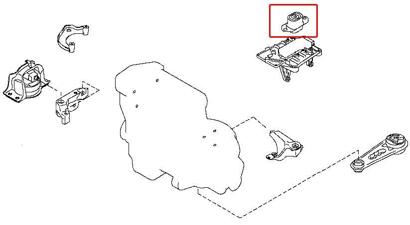 Замена подушки на двигателе ниссан своими руками