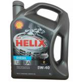 Моторное масло Shell Helix Ultra Diesel SAE 5W-40 (4л) 5W40